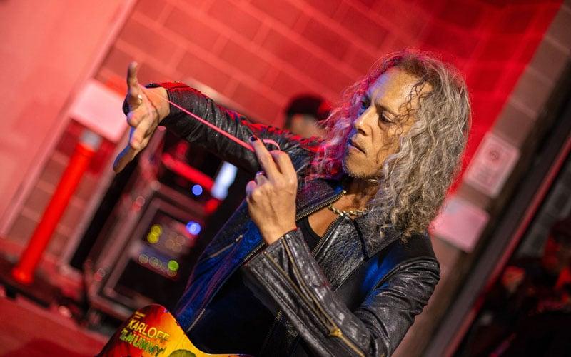 "Kirk Hammett Reveals: ""Exchanging ideas for the new METALLICA album"""