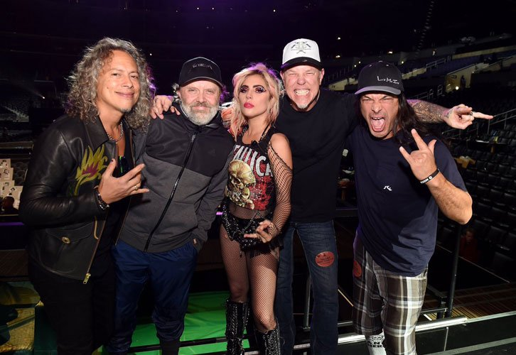Metallica's James Hetfield Reveals Thoughts about Lady Gaga