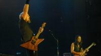 James Hetfield birthday with Metallica Dallas 2000 concert