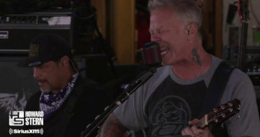 METALLICA Shares New Live-Performance on The Howard Stern Show