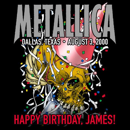 James Hetfield birthday