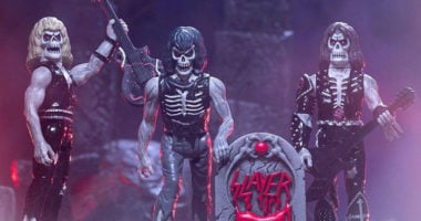 SLAYER announces action figures from Super7 with Live Undead 3-Pack!