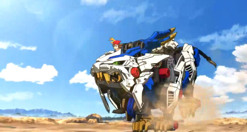 Zoids Wild anime series season 1 release to Netflix in August 2020