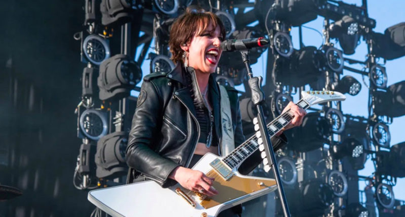 "Lzzy Hale: ""We are technically working on a new HALESTORM music"""