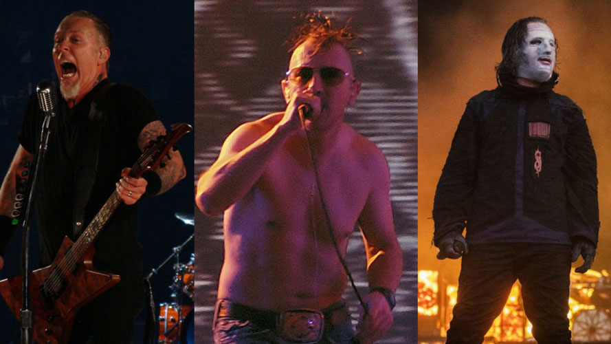 TOOL, METALLICA and SLIPKNOT Nominated for 2020 Billboard Music Awards