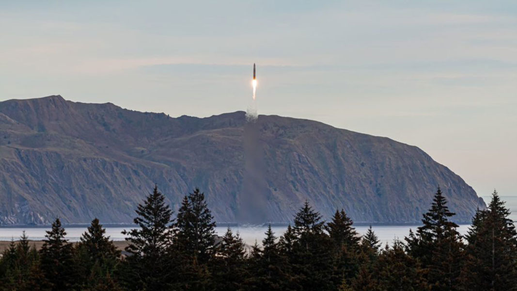 Astra startup company's test launch fails during the flight