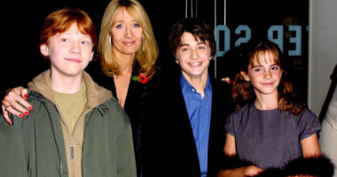 Harry Potter author JK Rowling talks about when she decided to write