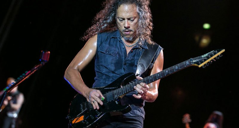 Metallica Guitarist Kirk Hammett Talks Jimi Hendrix's Influence on His Music
