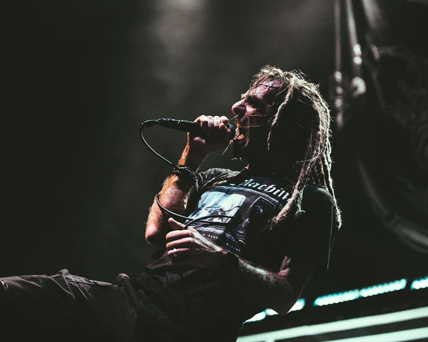 LAMB OF GOD frontman Randy Blythe: I think social media is a huge problem""