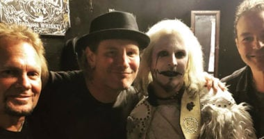Corey Taylor Join the John 5 for the 'You Really Got Me' Cover