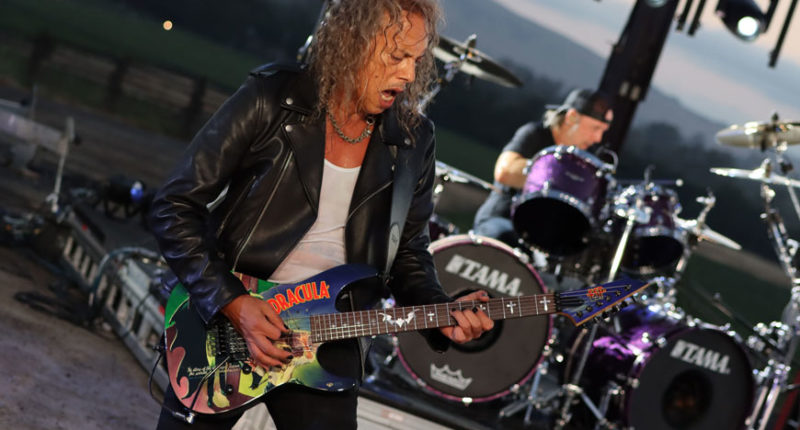 Kirk Hammett Interview About Making a Comeback with the METALLICA