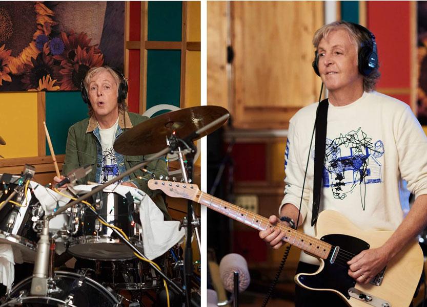 "Paul McCartney Reveals His Upcoming ""McCartney III"" Album"