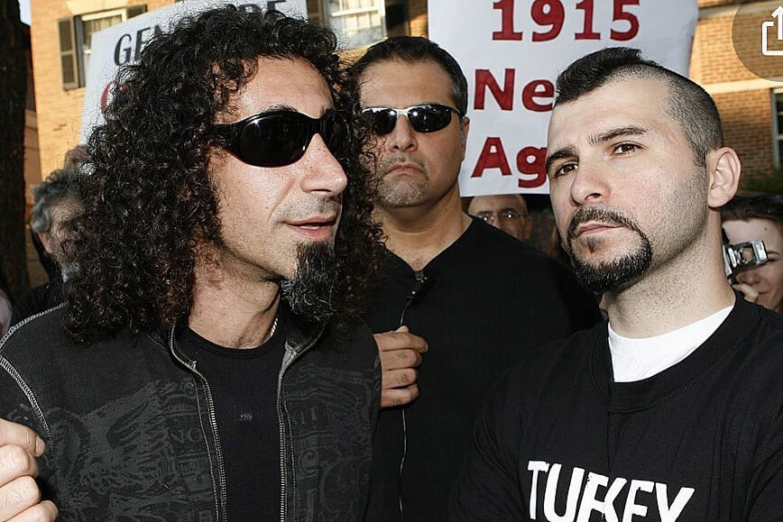 SOAD's Serj Tankian Recalls Dolmayan's Trump Support is Frustrating