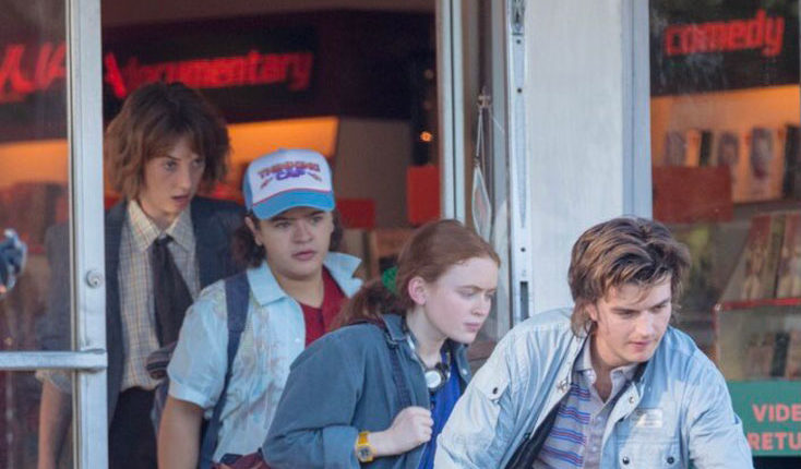 Stranger Things Season 4 New Set Photos Shows a New Character
