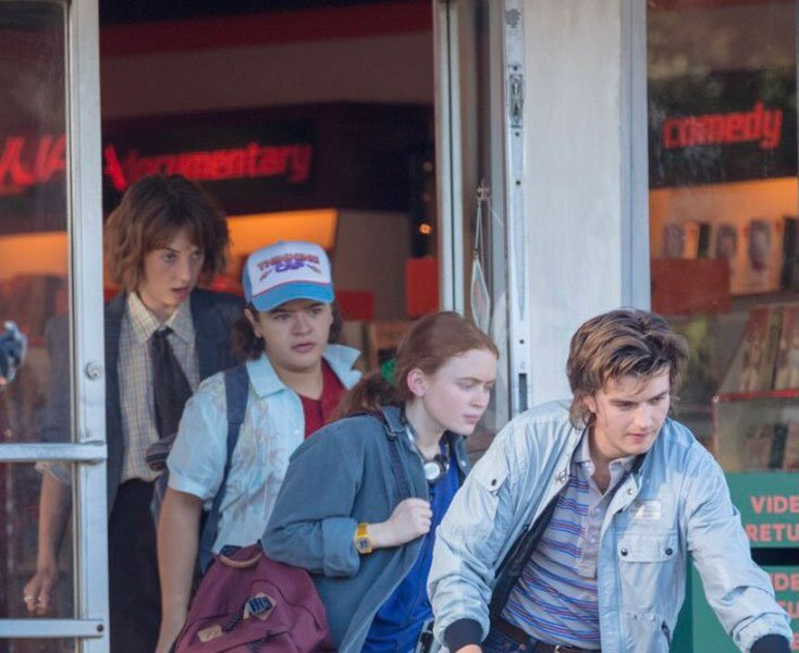 Stranger Things Season 4 New Set Photos Shows a New Character