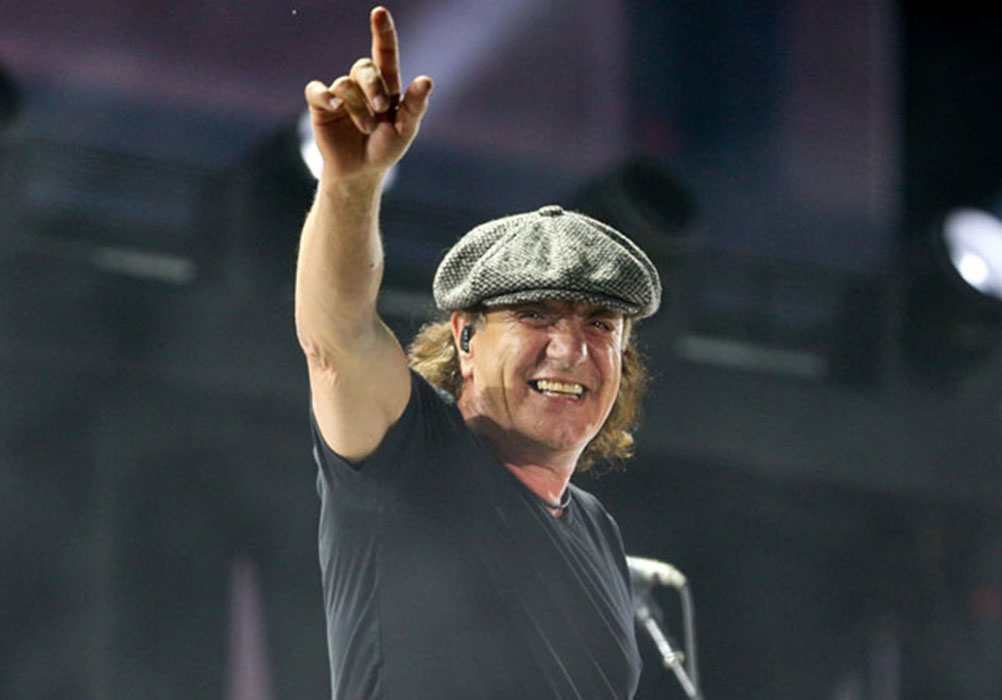 """AC/DC's Brian Johnson: """"It was probably the most magical time of my life"""""""