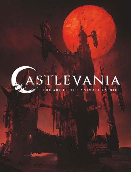 castlevania book cover
