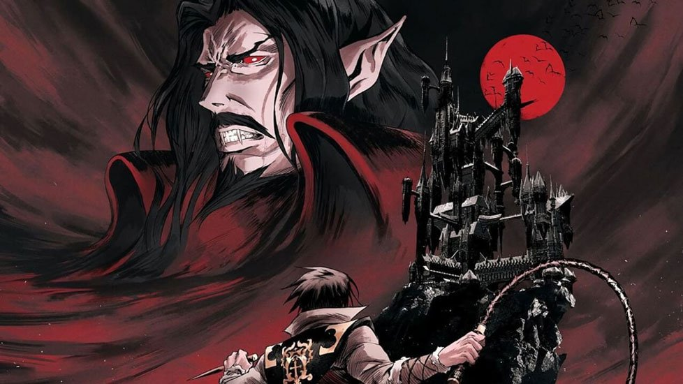 'Castlevania: The Art of the Animated Series' Book Coming in June 2021