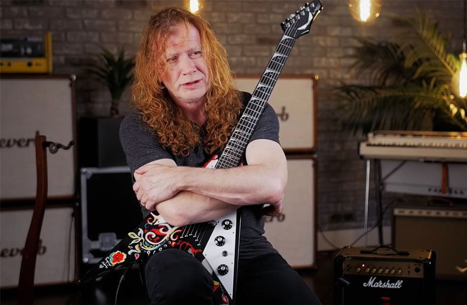 """MEGADETH Frontman Dave Mustaine: """"I'm writing a new record"""""""