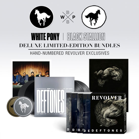 """""""White Pony"""" 20th-anniversary special edition:"""