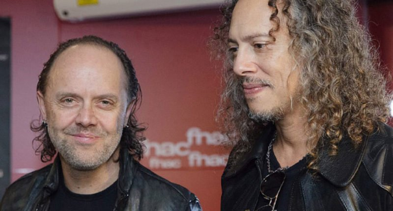 "METALLICA Members Talks for Band's ""The Black Album"" Record"