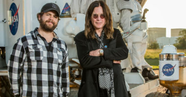 Ozzy Osbourne and His Son Jack Research for Salt Mining in Utah