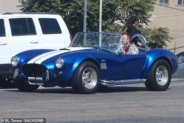 Aaron Paul's Car - 1965 Shelby Cobra