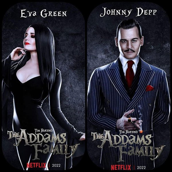 "Netflix's live-action reboot for ""Addams Family"""