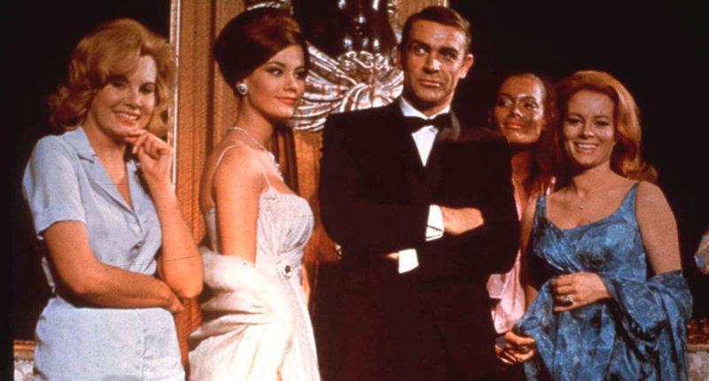 Over 20 James Bond Movies Free Now on YouTube and Peacock