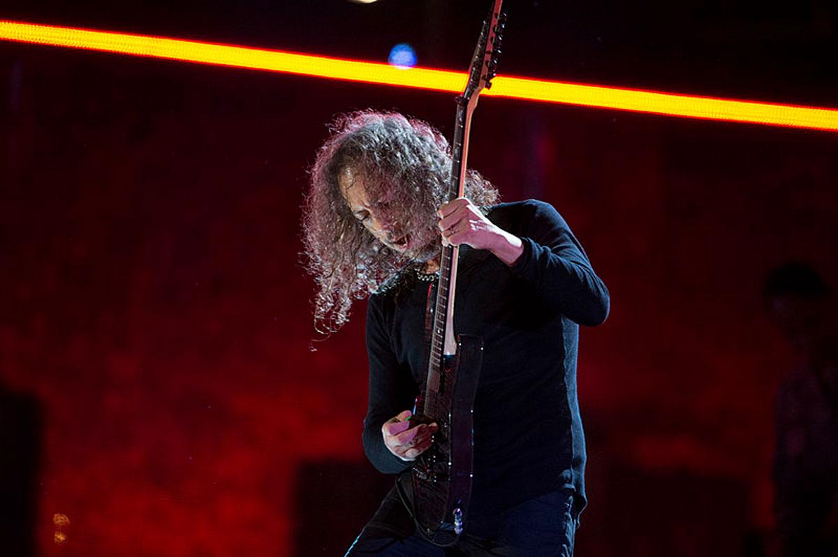 Kirk Hammett Tells His First Meeting with METALLICA
