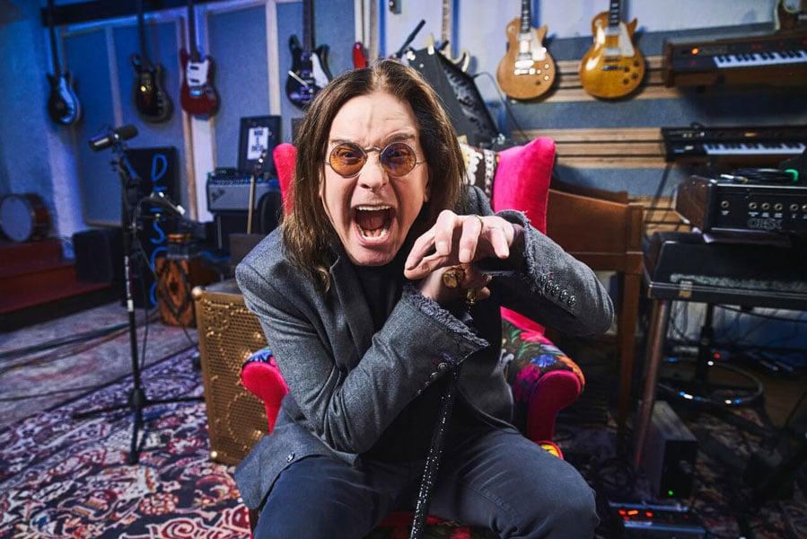 Ozzy Osbourne Wife Sharon Osbourne Posted He Looks Happy