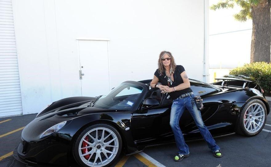 Steven Tyler's Car - Venom GT Spyder