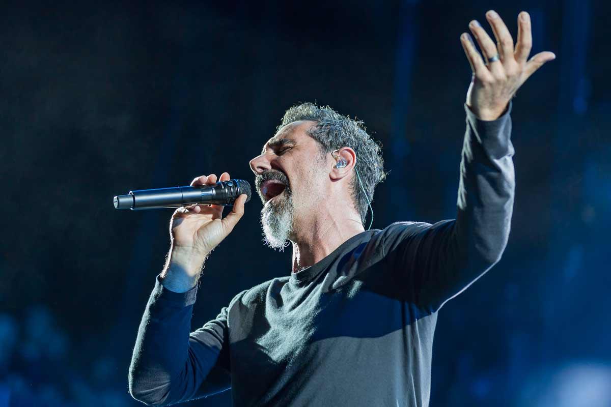 Serj Tankian Says He Wants to Do Metallica-Like Projects