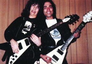Kirk Hammett in 1984 - Credit: Joseph Carlucci
