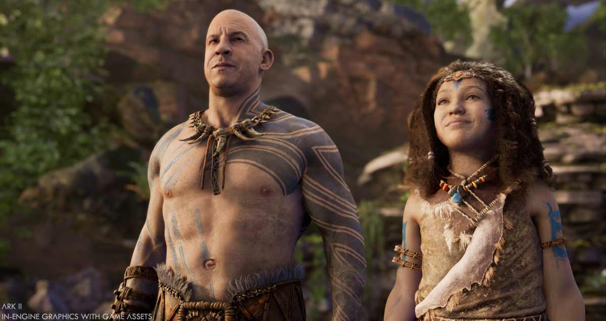 Vin Diesel Is A Star And Executive Producer on ARK 2