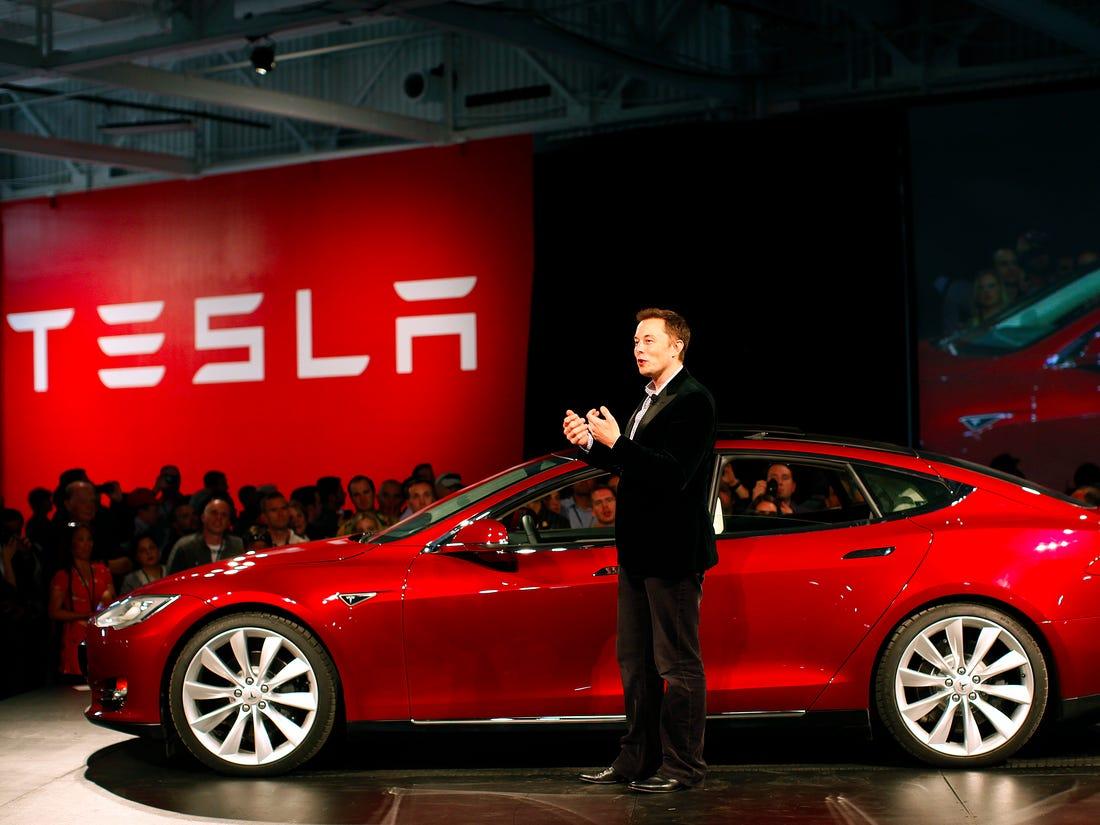 Elon Musk's car - Tesla Model 3