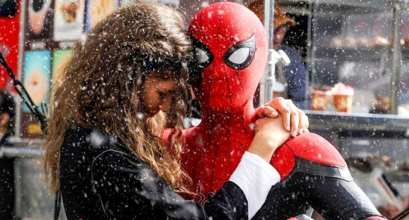 Spider-Man 3 Releases New Set Photos Shows Zendaya and Tom Holland