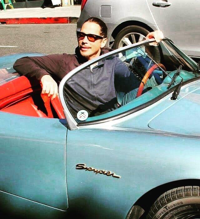 one of the Chris Cornell's Car - 1955 Porsche Speedster Spyder