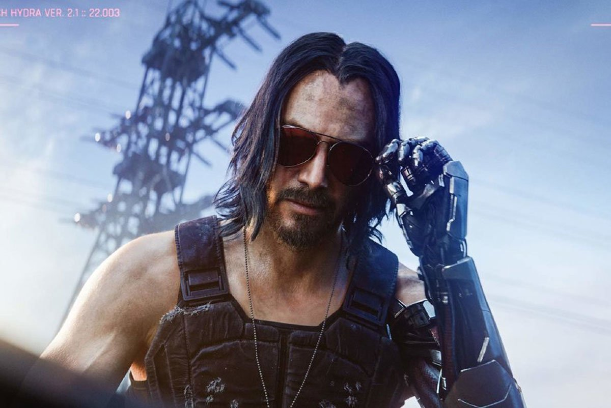 Keanu Reeves References to Cyberpunk 2077 and Marlon Brando