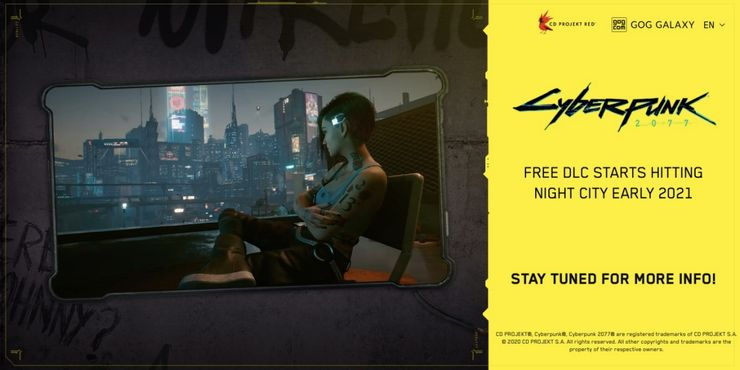 Cyberpunk 2077 Free DLC Reveals