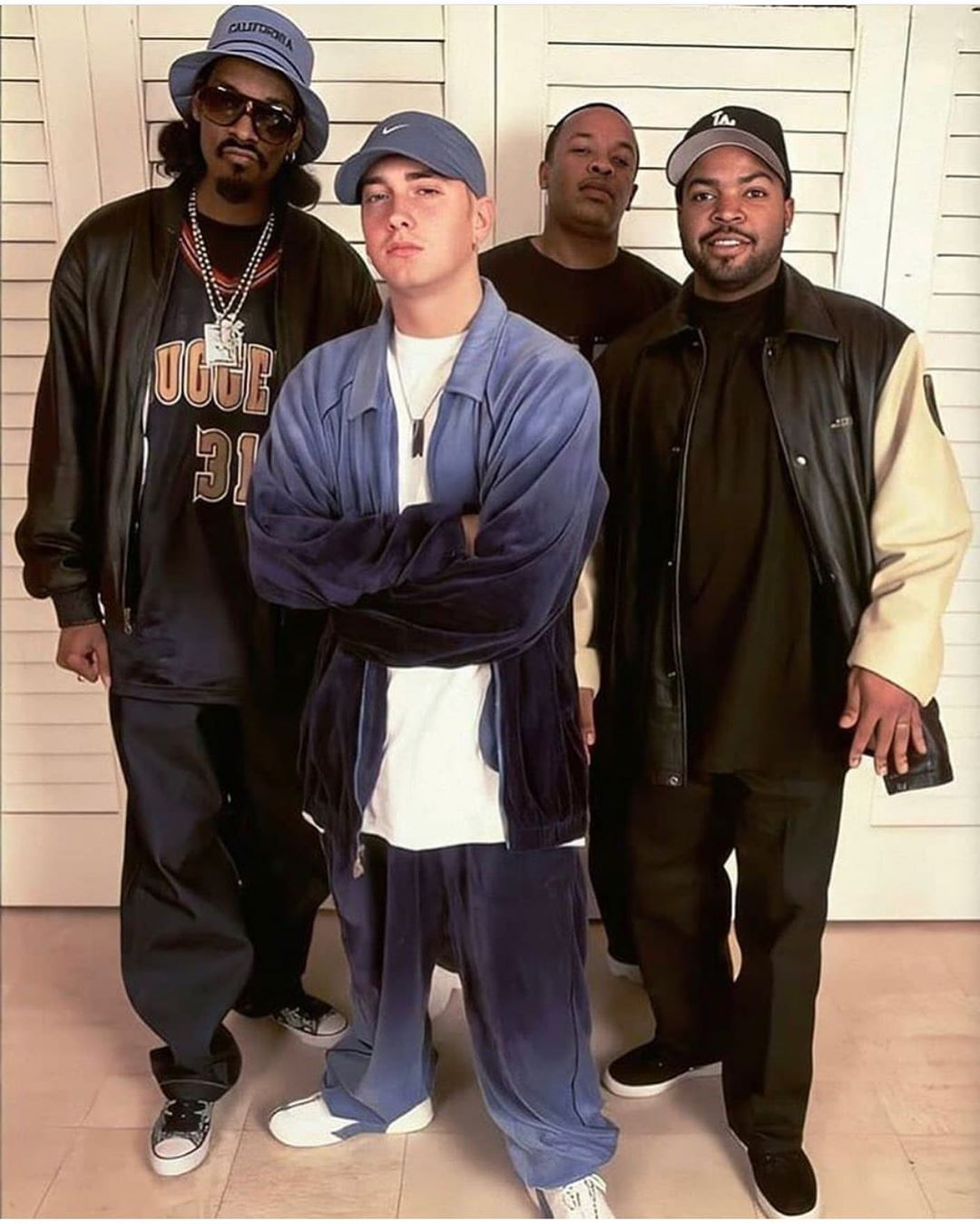 Snoop Dogg, Eminem, Ice Cube and Dr.Dre
