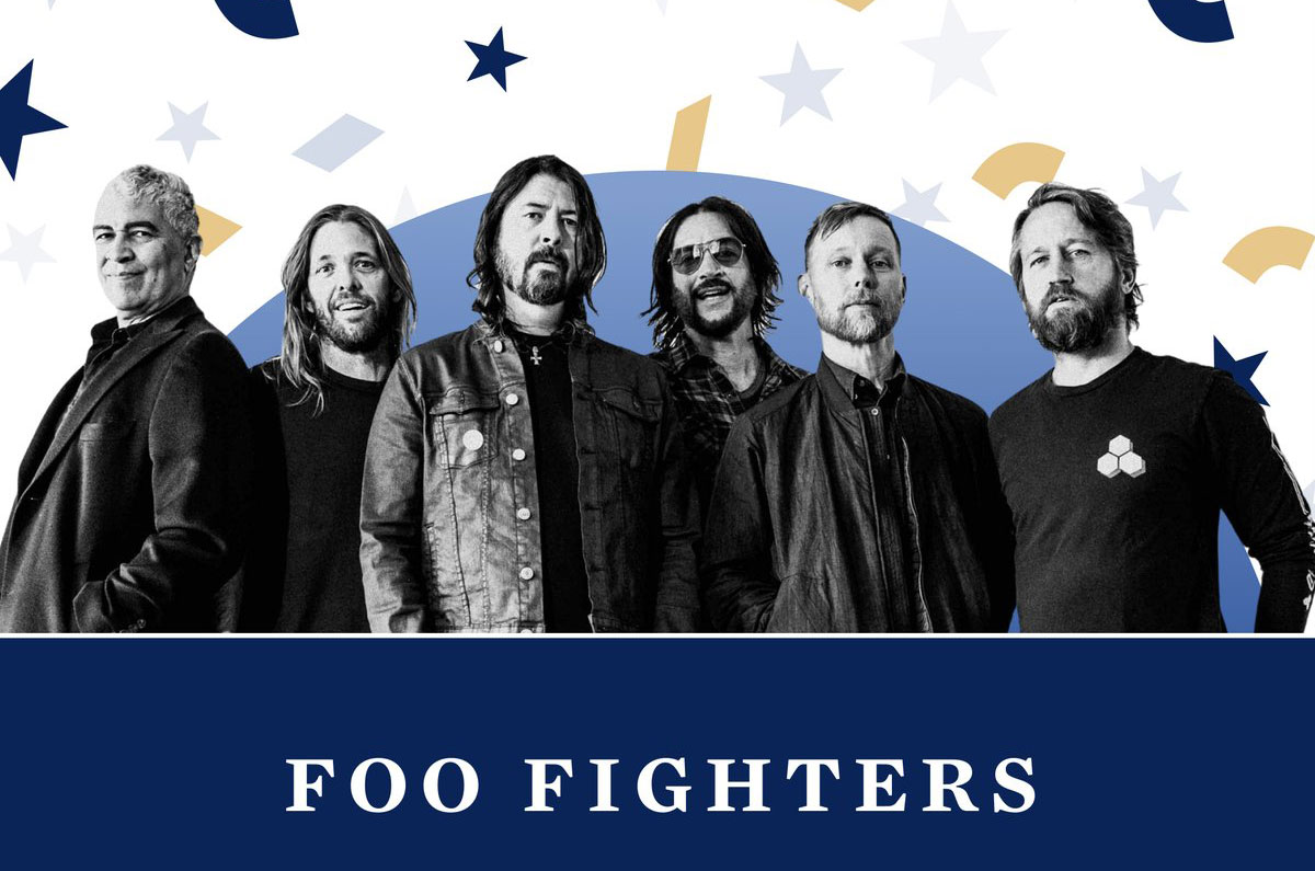 Foo Fighters Performs ''Times Like These'' on the Celebrating America