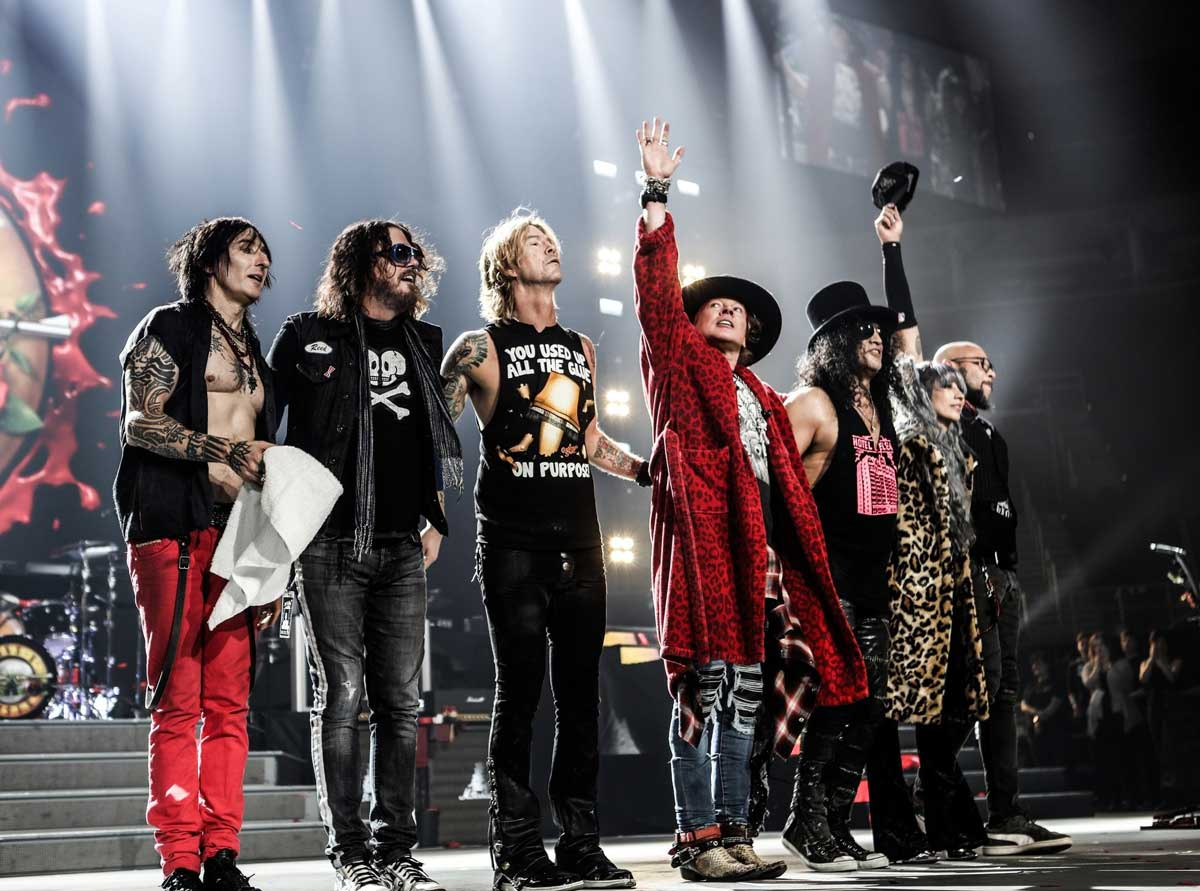 The Top 10 Guns N' Roses Songs of All-time