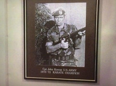 John Kreese in army