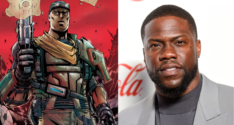 the soldier Roland and Kevin Hart