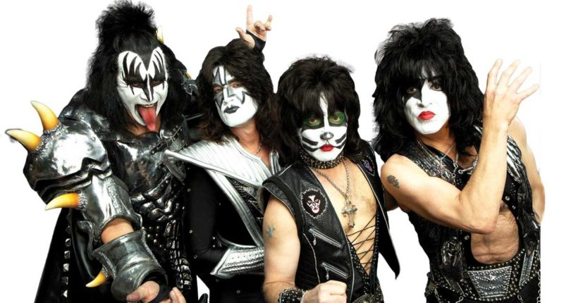 KISS Bassist Explains Why KISS Wears Makeup on Stage