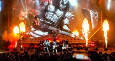 KISS Broke Guinness World Records at the New Year's Eve Concert in Dubai