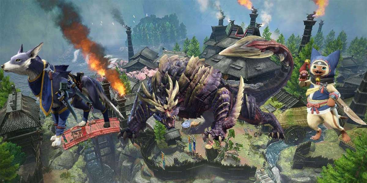 Monster Hunter Rise Reveals Free Demo, Videos, Platforms and Release Date