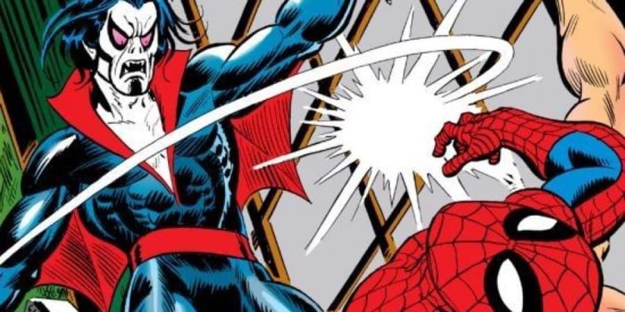 Morbius vs Spider-Man, Marvel Comics