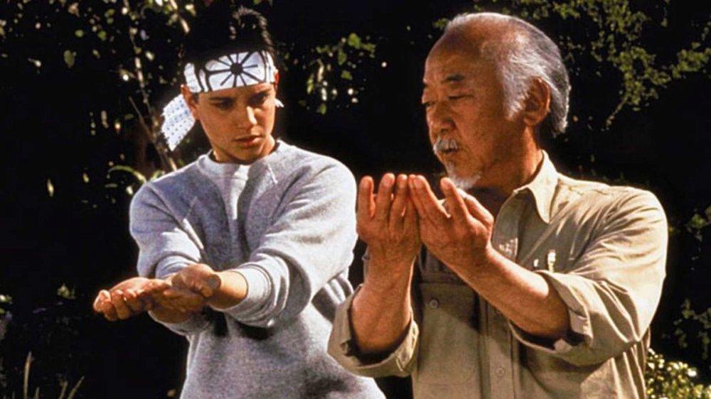 Daniel Russo and Mr.Miyagi